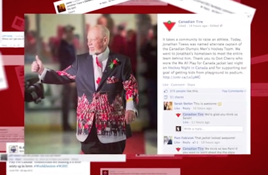 Canadian Tire Don Cherry Jacket