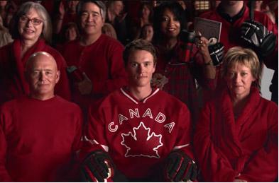 "Canadian Tire ""Team Photo"" TV"